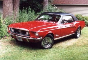 pony car 1968