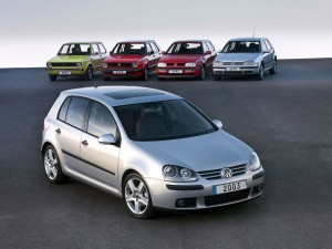 La Golf de Volkswagen