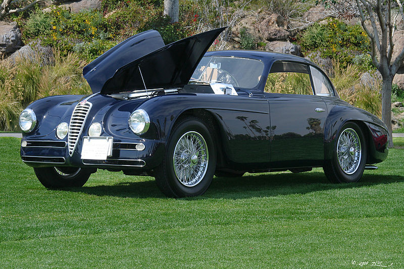 ALFA ROMEO 6C 2500, produite de 1939 à 1952