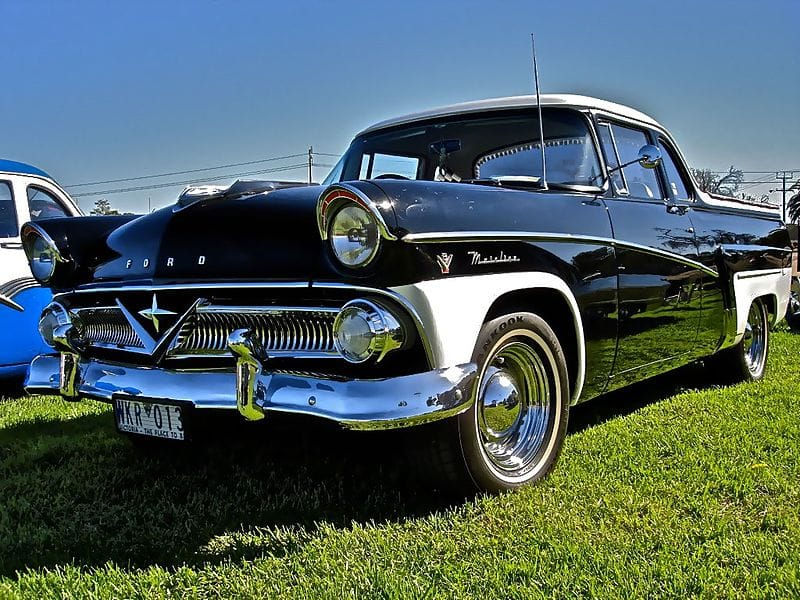 Ford V8 Mainline Coupe Utility